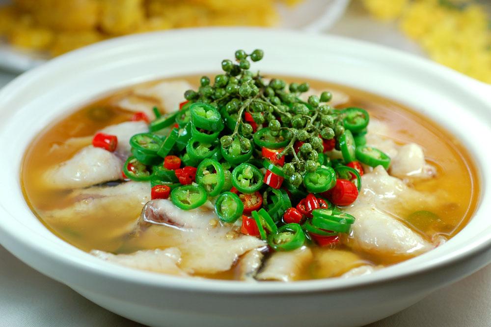 金汤鱼片(野生鱼按斤计)