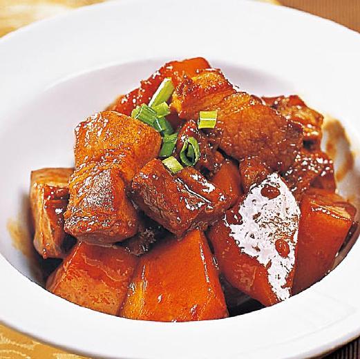 干煸红烧肉(五花肉1.5斤)