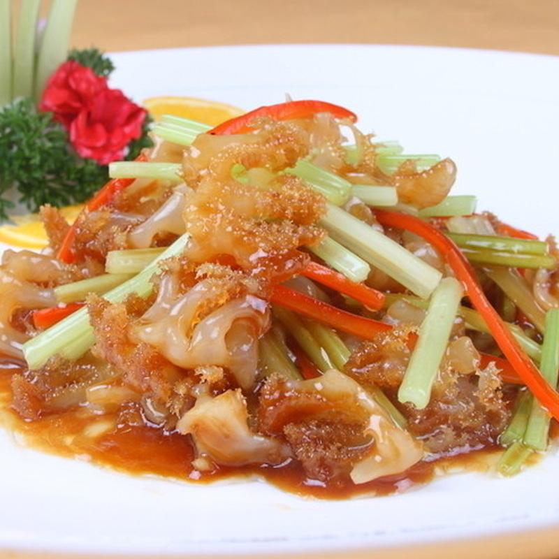凉拌海哲头(红海蜇头1斤)