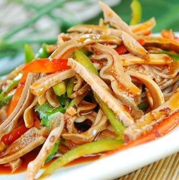 红油肚丝(猪肚1斤)