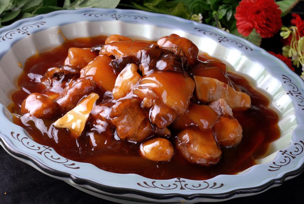 川式坛子肉(肘子,肉丸,鹌鹑蛋等)