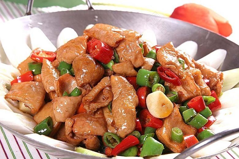 干锅肥肠(猪大肠1.5斤)