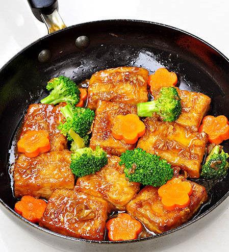 铁板米豆腐 (米豆腐1斤)