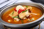 酸汤蹄花煲(猪蹄花1.5斤)