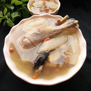 竹荪炖土鸡(竹荪,土鸡1斤)