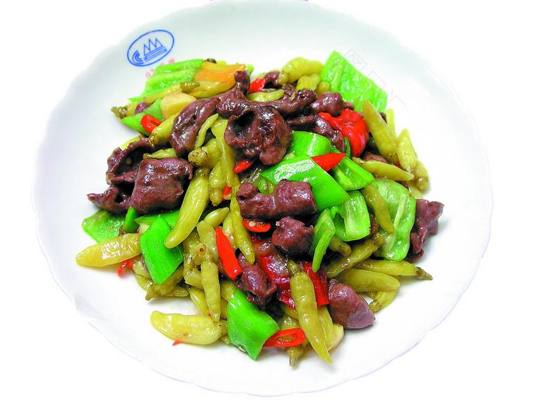 山椒炒肉末(猪肉末0.5斤)