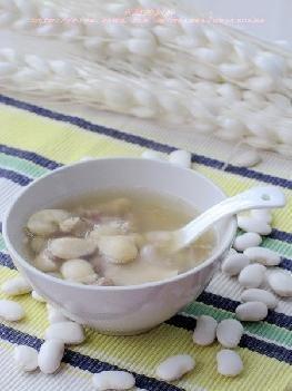 素酸菜豆汤
