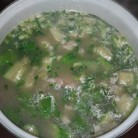 丝瓜滑肉汤