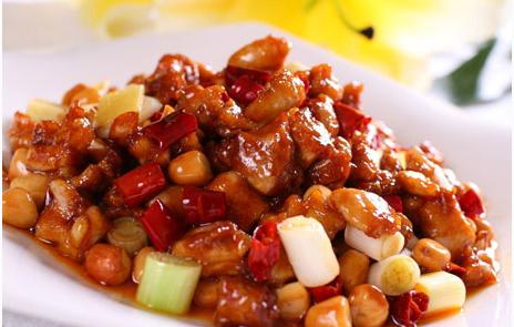 宫保鸡丁(鸡脯肉0.8斤)