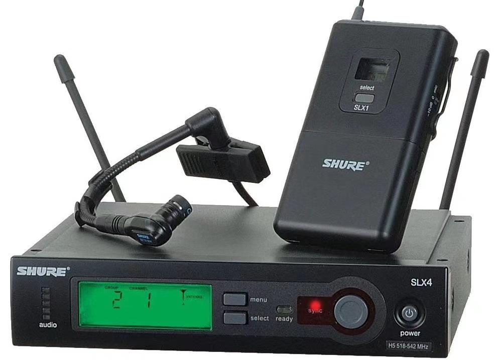 全新舒尔Shure无线话筒套装(专为萨克斯小号等管乐器设计开发)