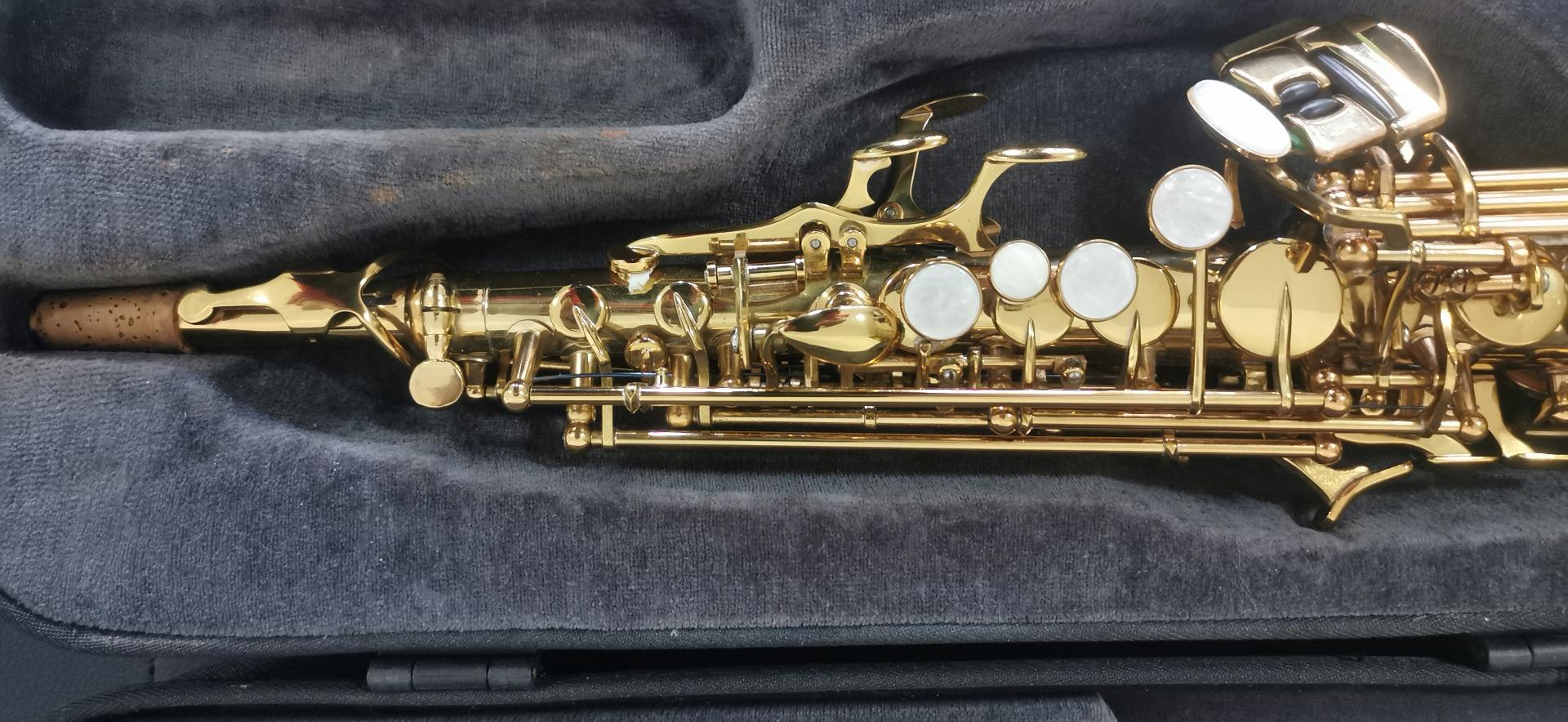 (已售)9成新卡尔沃兹高音萨克斯ST90