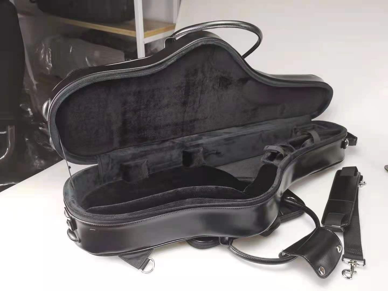 全新BROPRO次中音萨克斯黑色皮箱(W701CTLB)