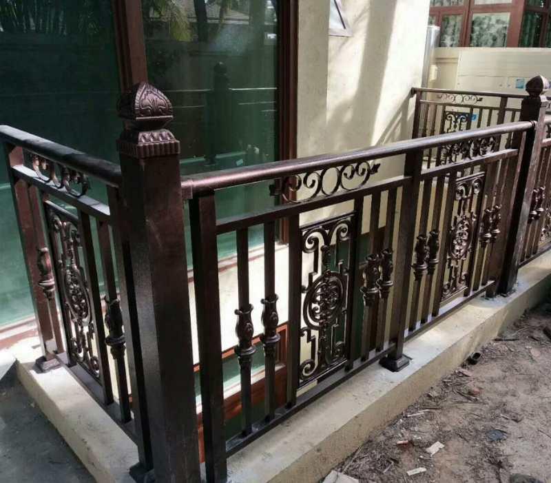海口铝艺阳台栏杆