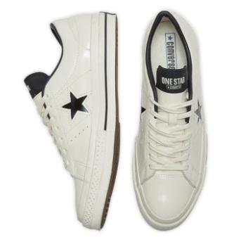 One Star Leather 低帮撞色休闲板鞋 167324C