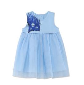蒙蒙摩米女童连衣裙2020新款夏装蓬蓬公主裙洋气1女孩3岁儿童裙子