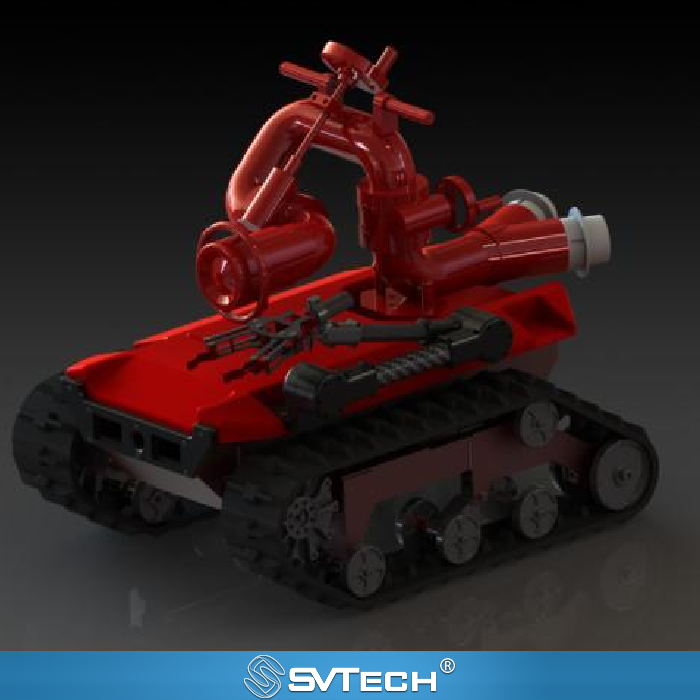 Fire Fighting Robot SV-FFR