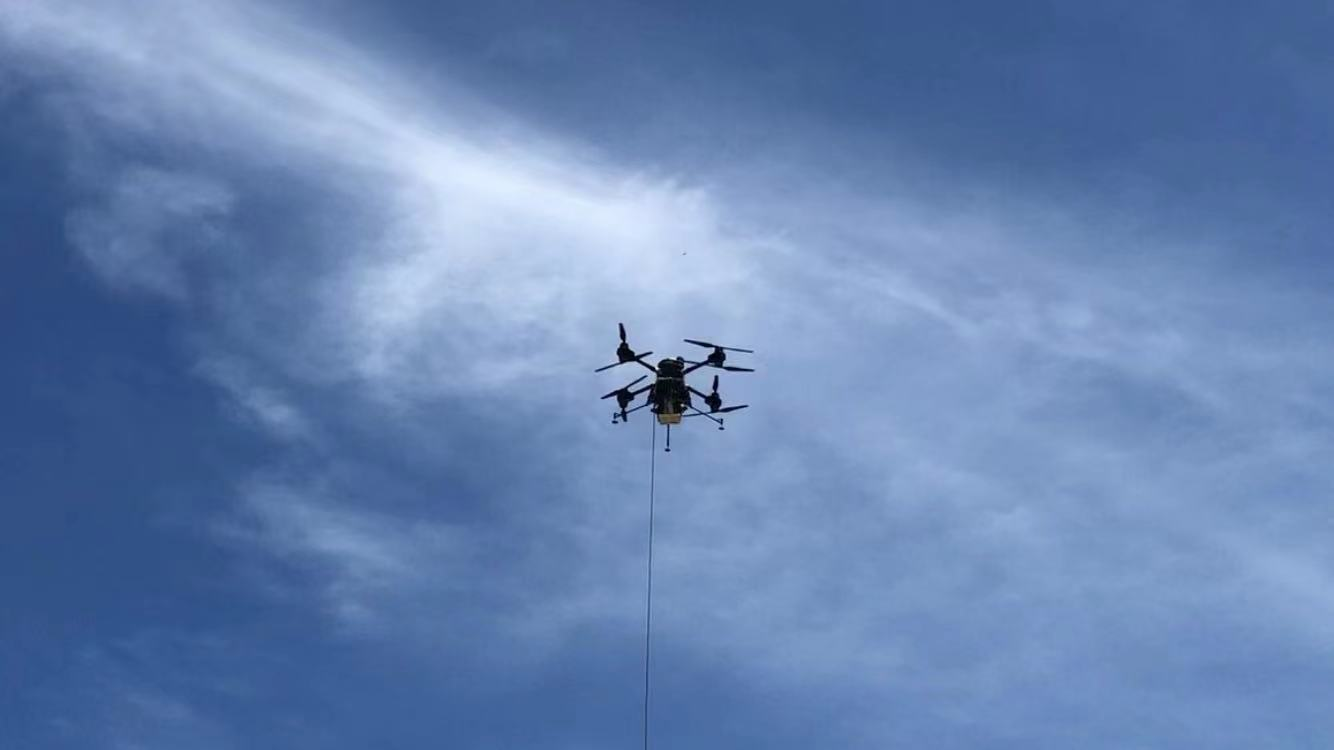 SV Tech Tethered Drone T30 has Passe...