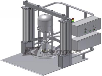 高粘度物料抽取系統
