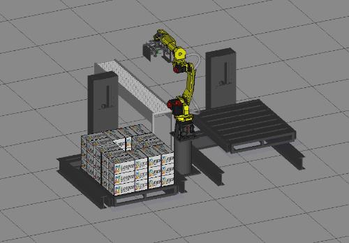 机器人搬运码垛系统