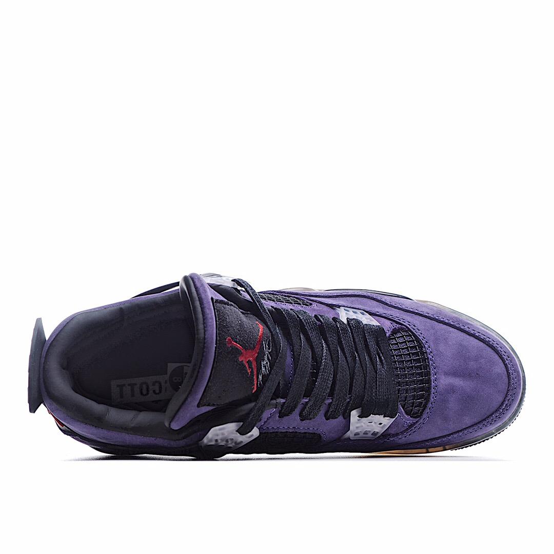 独家实拍✨【官方纯原版本 诠释市场最强四代】 Travis Scott X Air Jordan 4 原楦原纸板开发 完美呈现四代版型 未正式发售配色