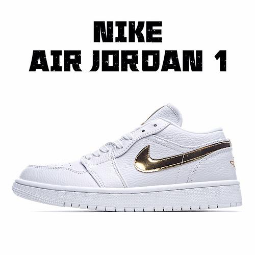 """独家实拍✨耐克 Nike Air Jordan 1 Low""""白金""""AJ1低帮时尚休闲板鞋 #原厂内置气垫魔块 头层小牛皮 莆田鞋质量"""