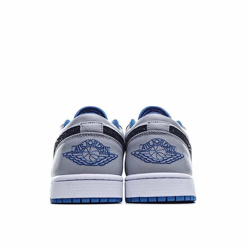 独家实拍✨Nike Air Jordan 1 Low 独立日 灰狼 官方同步配色 公司原鞋购回重新打版开模 莆田鞋吧