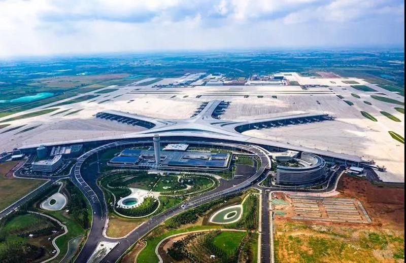 青岛胶东国际机场高地铁站房