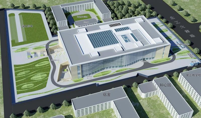 北京工业大学逸夫图书馆