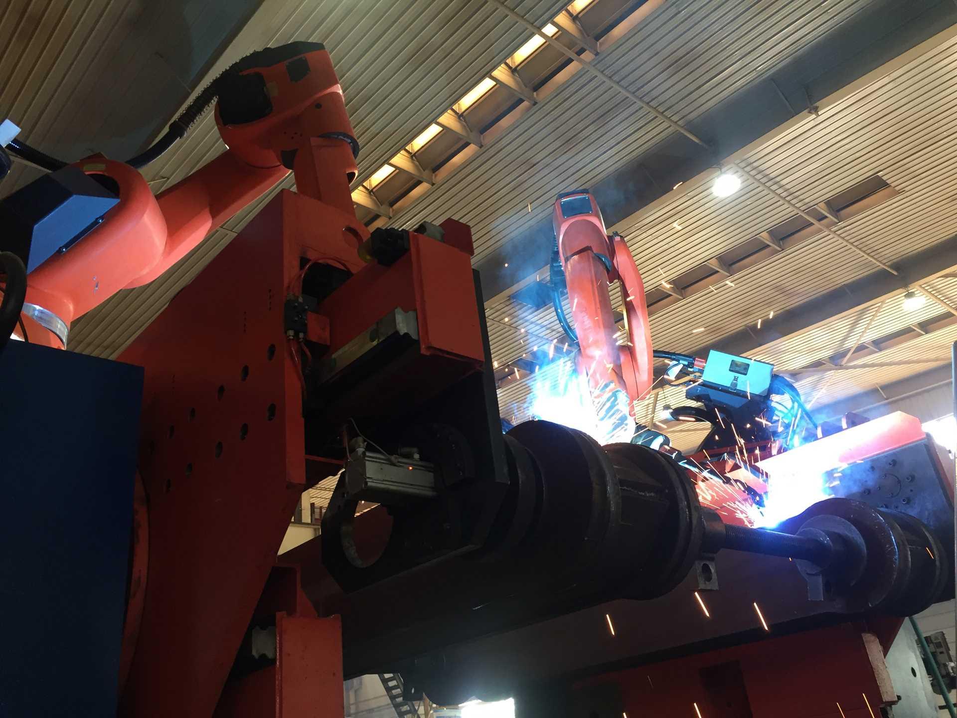 煤機連桿焊接機器人系統(煤機)