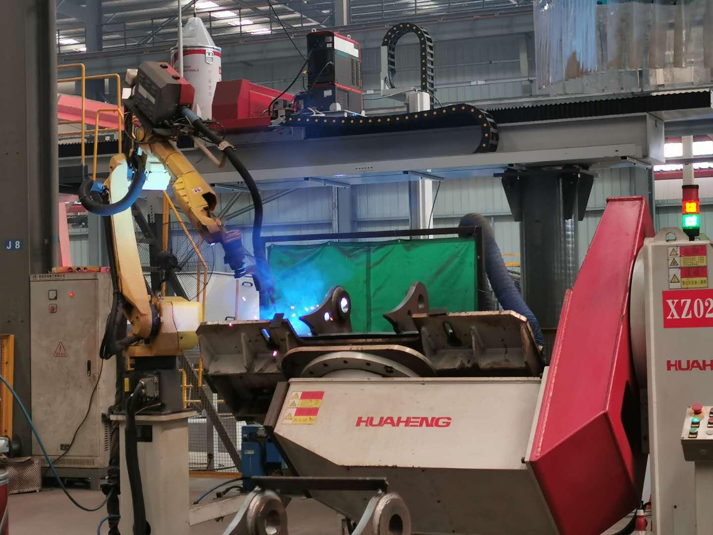 耳板焊接機器人系統(工程機械)