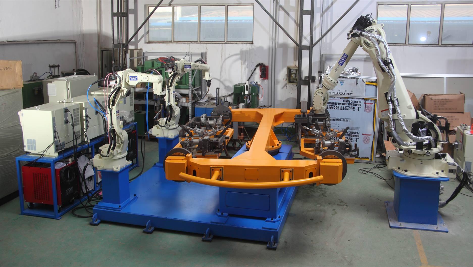 叉套焊接機器人系統(工程機械)