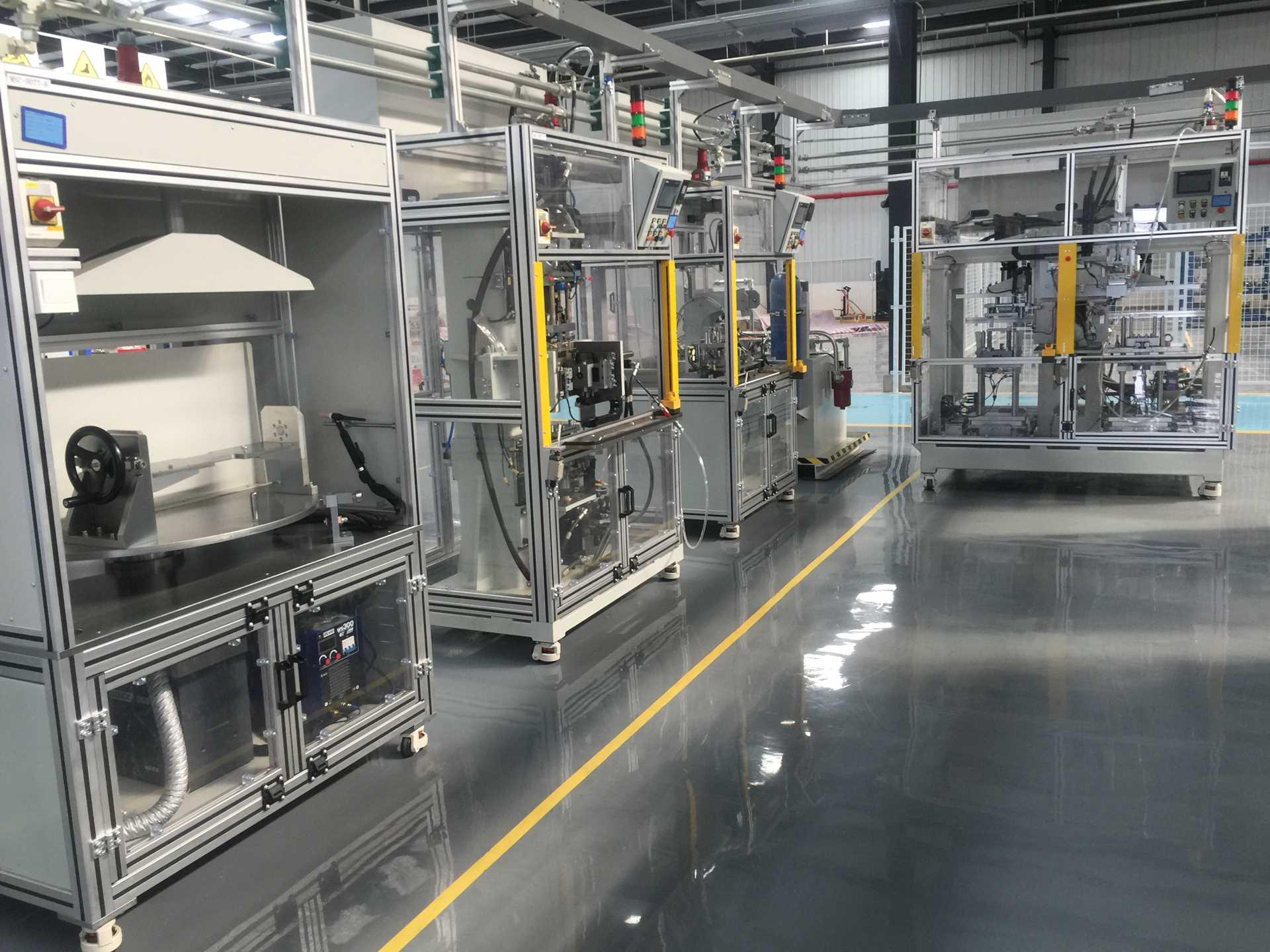 發動機EGR總成非標自動化裝配生產線