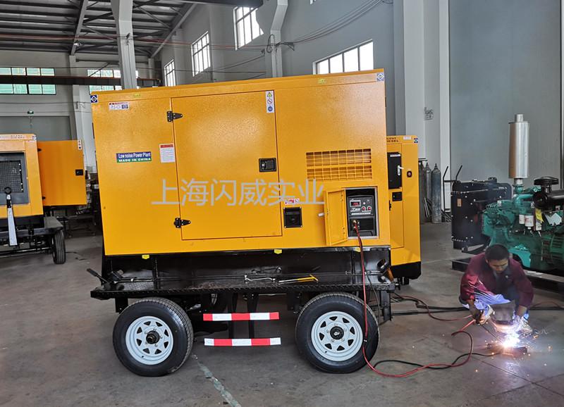 400A柴油发电电焊机 移动式野外大功率焊接
