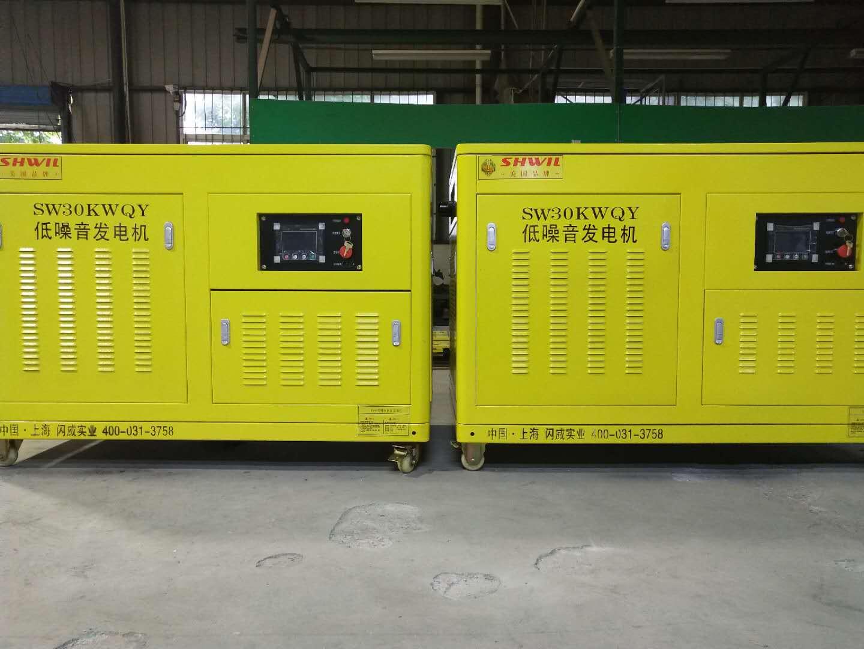 30KW汽油發電機