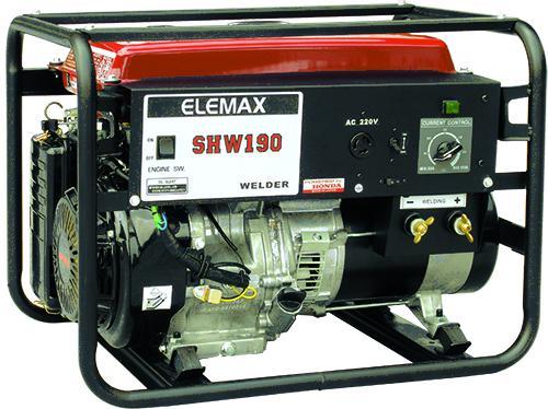 本田汽油發電電焊機 SHW190