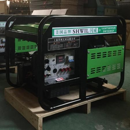 15KW汽油发电淡淡机