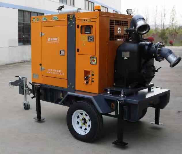 大排量防汛排涝柴油抽水泵车