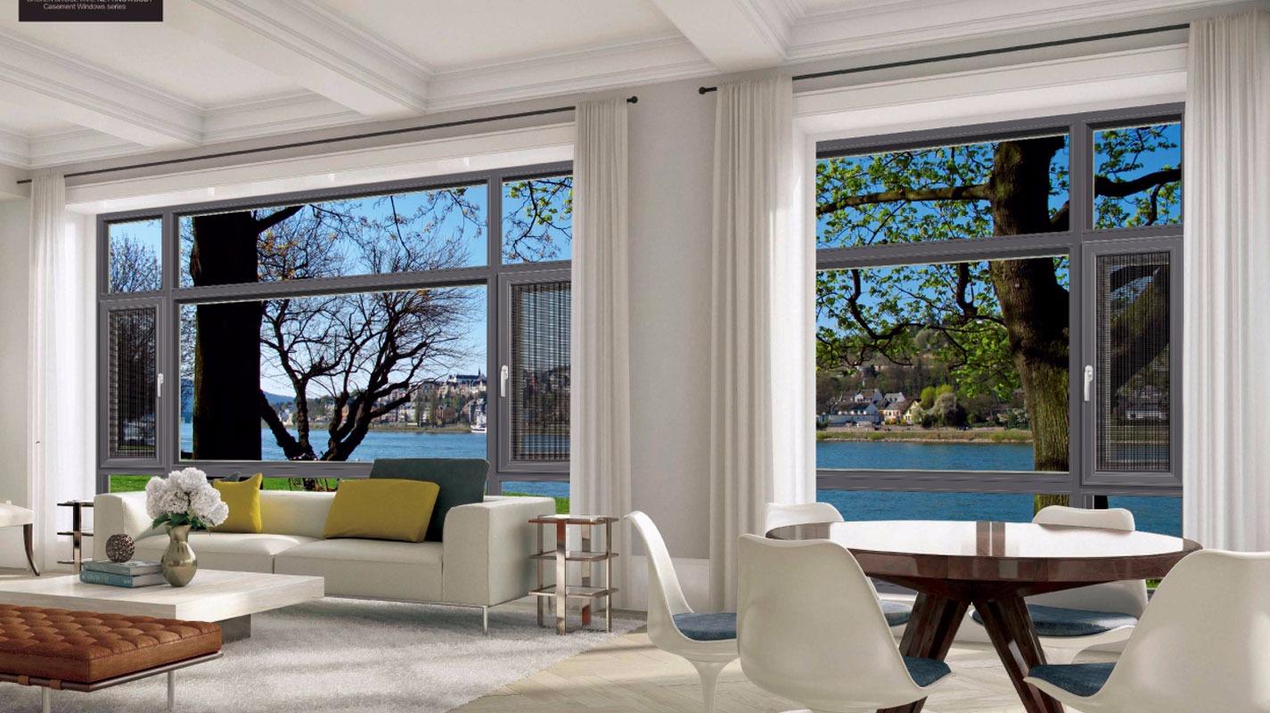 卓越的隔热、隔音、密封性能,为您的家居大大降低了取暖和制冷的能量消耗,优点是其他铝合金门窗无法比拟的。