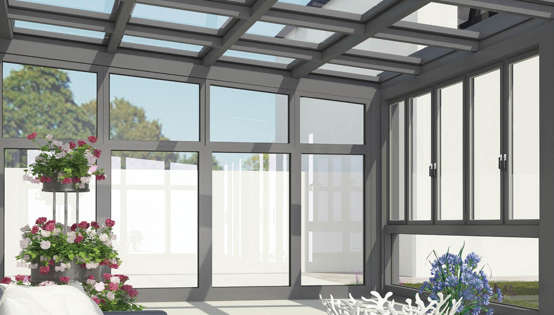 采用智能连接技术,可以像搭积木一样装拆,实现DIY阳光房。真正实现隔热、隔音、节能、宽阔的玻璃槽口设计。