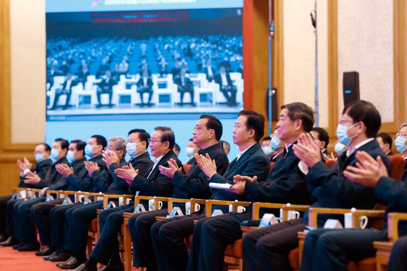 李克强出席全国大众创业万众创新活动周启动仪式