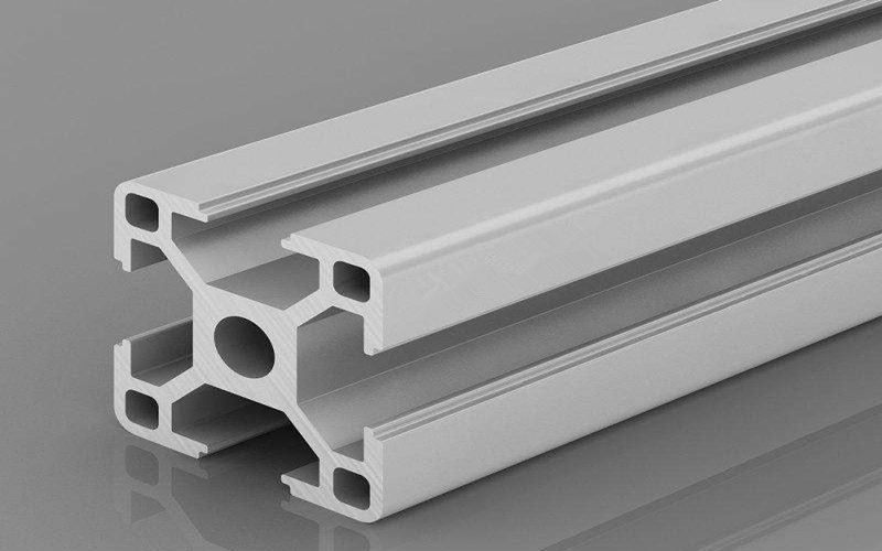Stretch bending of industrial profiles