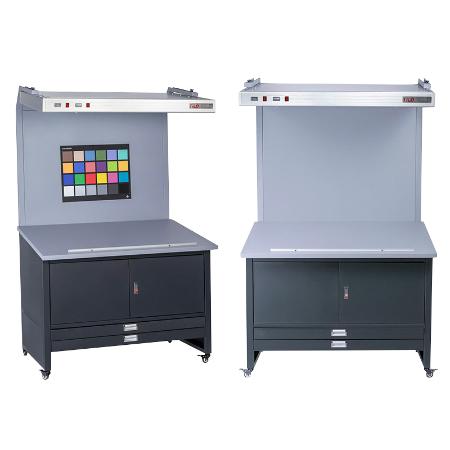 CC120标准光源看样台D65/D50/TL84印刷纺织菲林标准对色光源箱校色箱