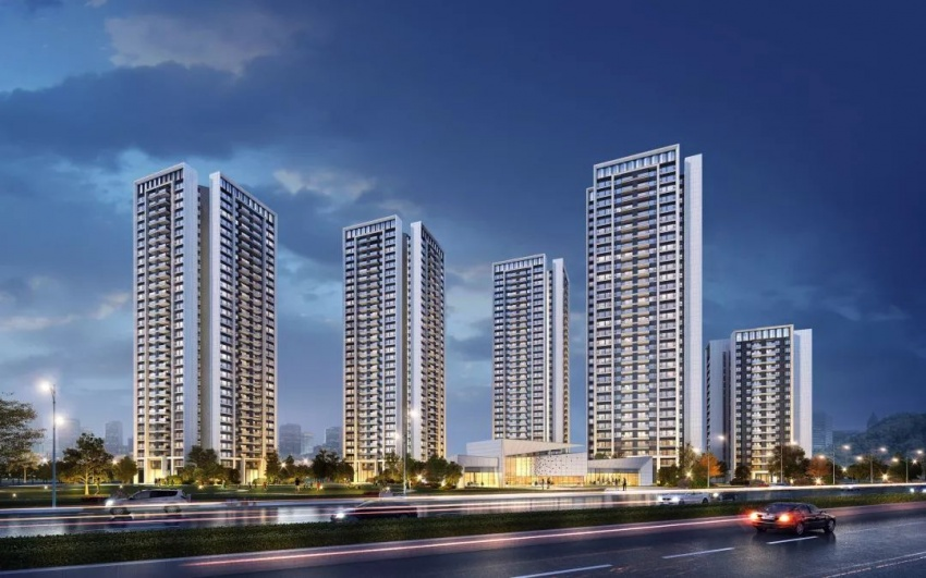 Zhonghai Real Estate-Left Bank Lanting