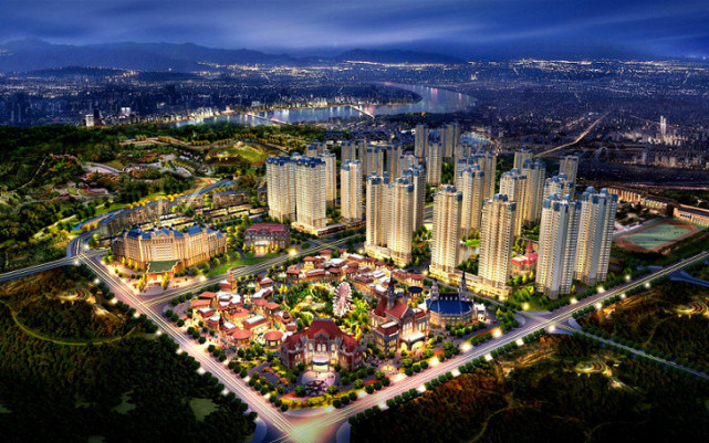 Evergrande Real Estate-Century Dream City