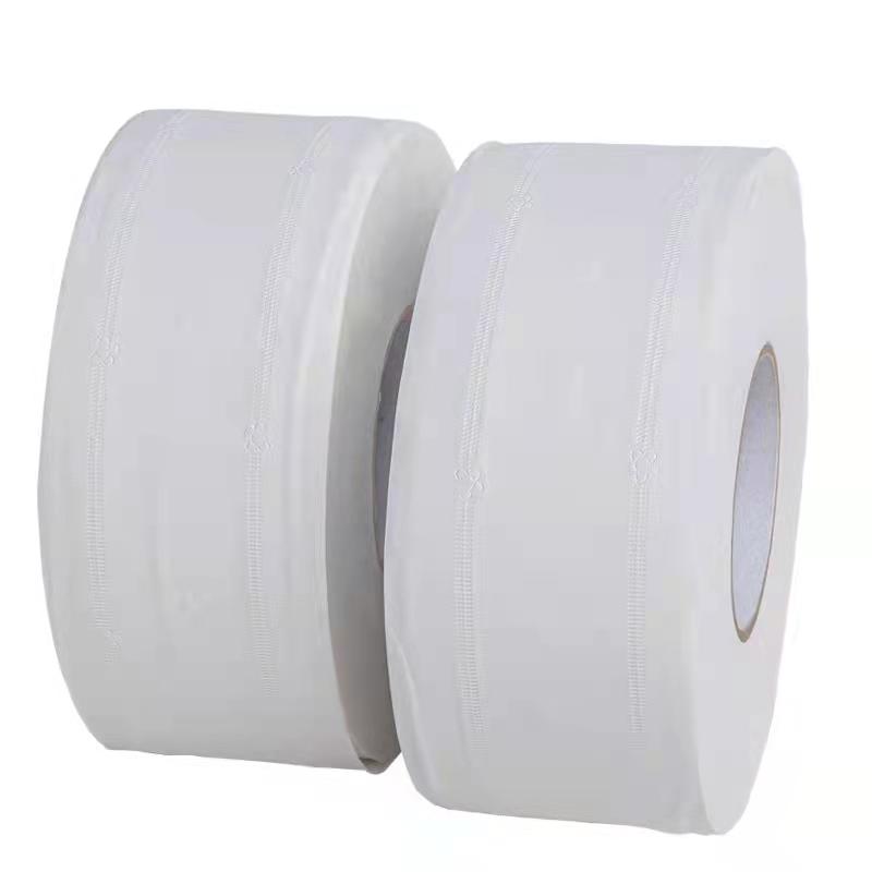 大卷纸 厕纸 800克/卷 12卷/箱 酒店专用 商务专用实惠装大卷纸整箱