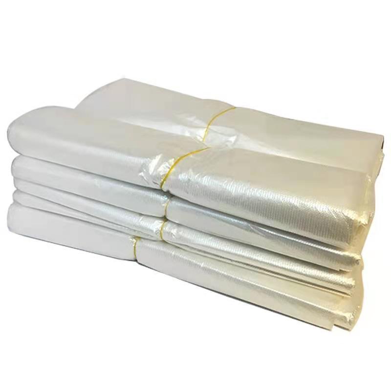 加厚型垃圾袋 白色透明垃圾袋  100只/把