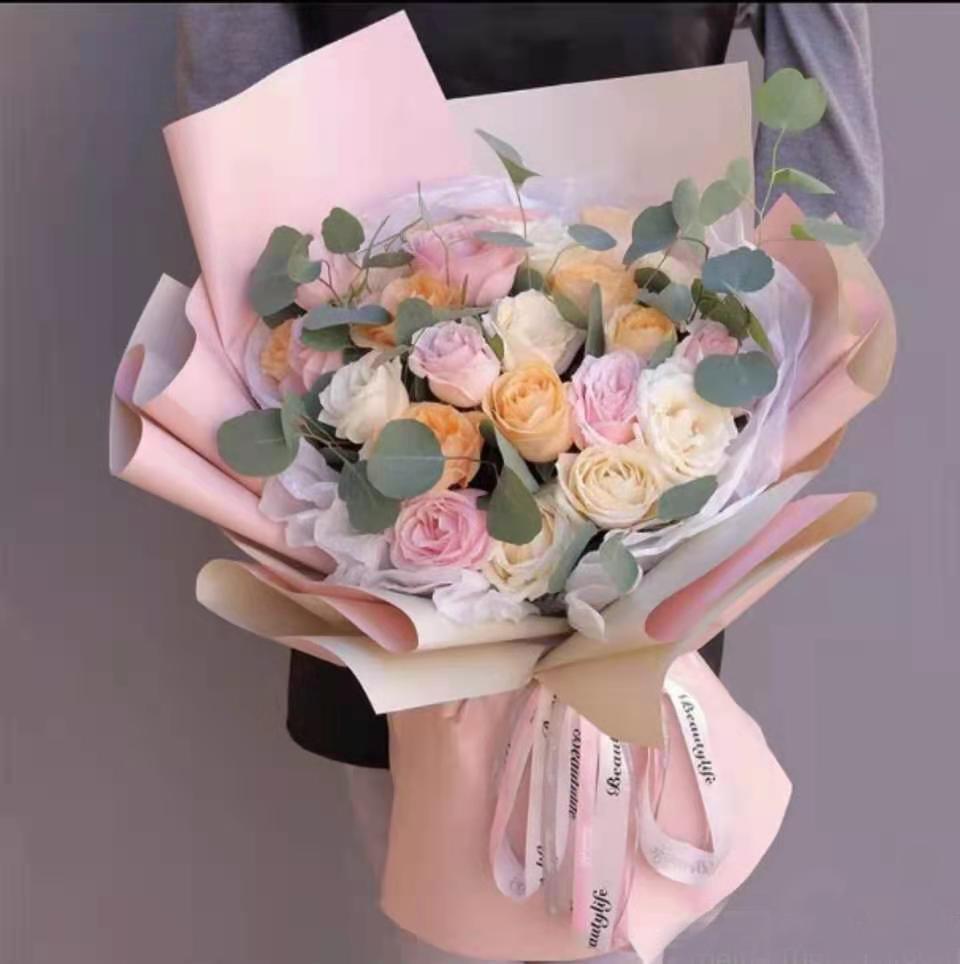 玫瑰花束(33支玫瑰+其他)情人节 生日 七夕 圣诞节 教师节 元旦 妇女节