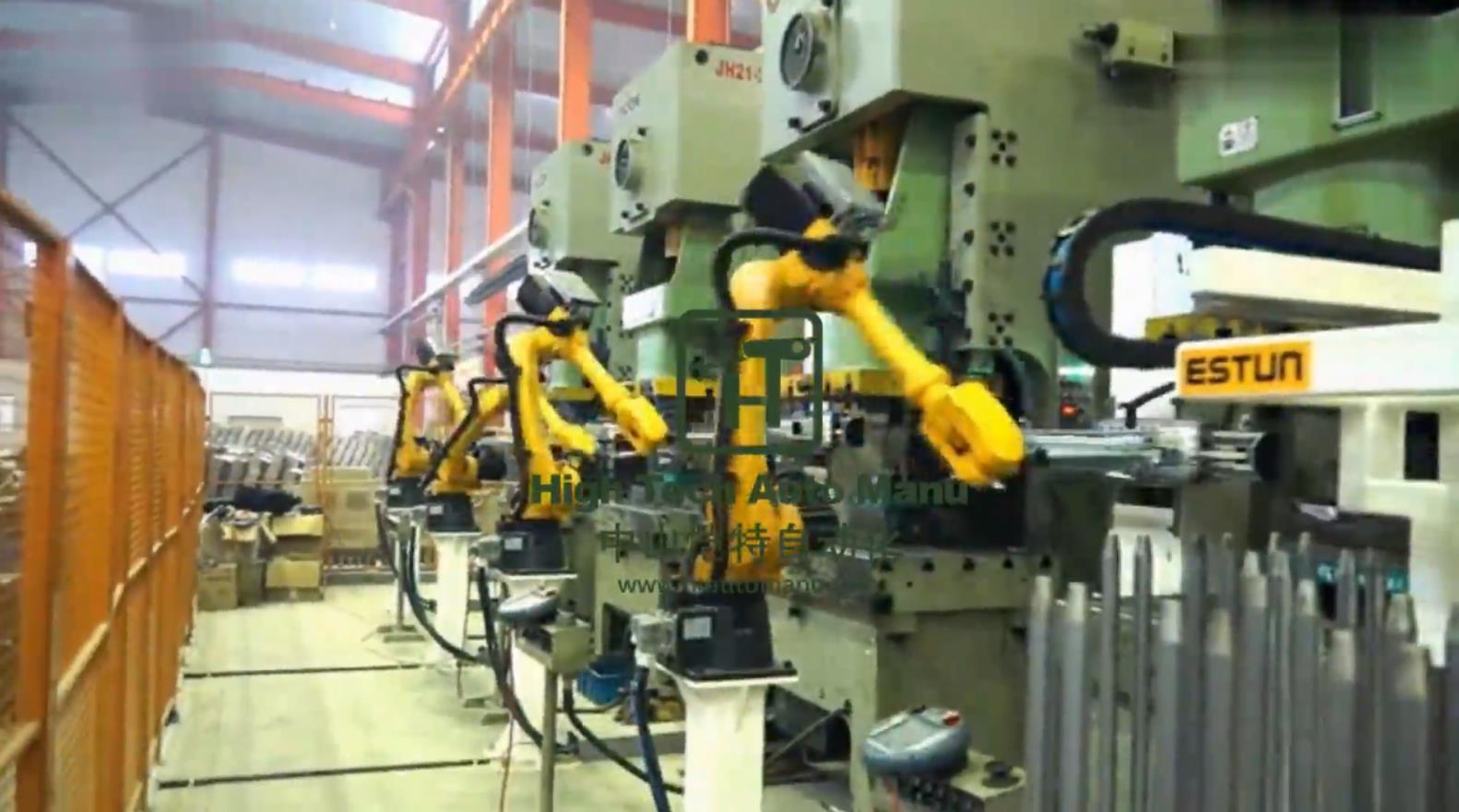 冲床自动上料机器人