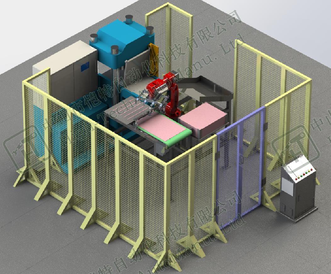 硫化机自动上下料机器人
