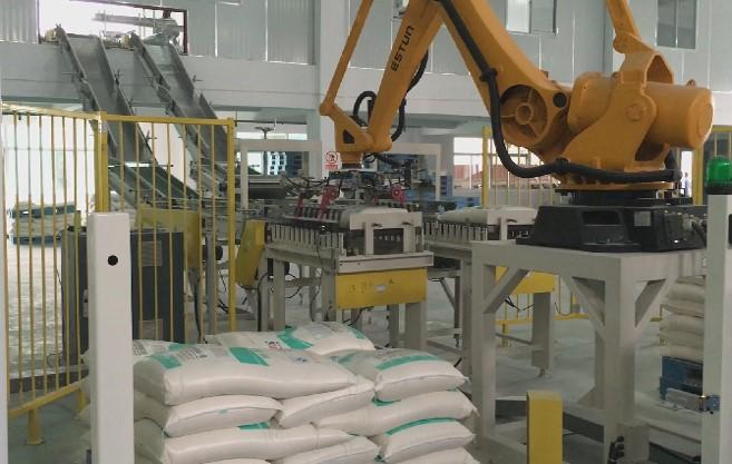 袋装面粉自动码垛机器人